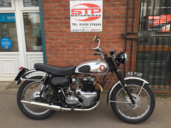1956 BSA A10 650cc Road Rocket fitted with rebuilt A7 500cc engine