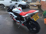2006 Yamaha YZF600 R6  1 owner & low mileage.