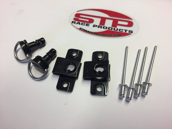 Black Dzus Fairing  Fastener 14mm