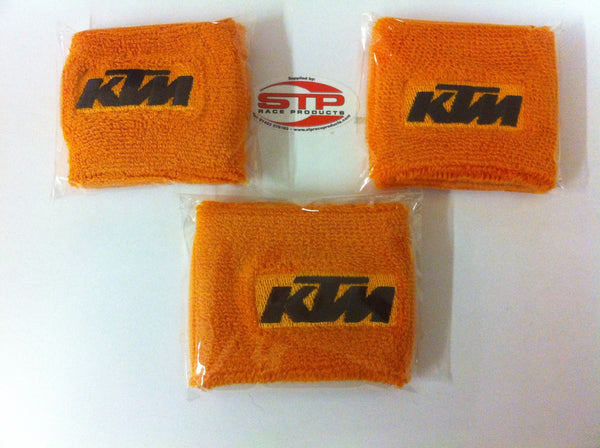 KTM RC8/R ,Motorcycle 1 x Clutch & 2 x Brake  Reservoir Shrouds, Socks, Cover,