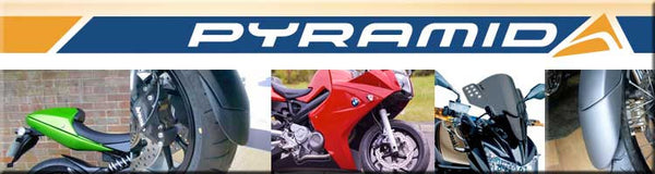 BMW K1300R all years Mudguard Extender Fender by Pyramid Plastics