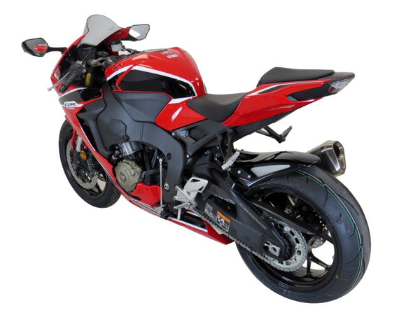 Honda CBR1000RR Fireblade  17-2019  Rear Hugger by Powerbronze Carbon Look & Silver Mesh