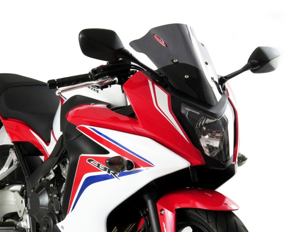 Honda CBR650F  14-2018 Airflow Dark Tint DOUBLE BUBBLE SCREEN by Powerbronze