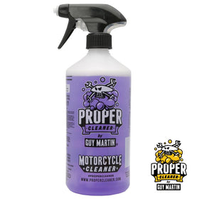 Guy Martin PROPER Motorcycle Cleaner Starter Pack Bottle & Refill Pouch 2x750ml