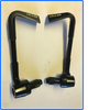 Tek2 Angled Brake & Clutch Lever Guards Motorcycle Motorbike Race Track BSB.