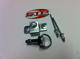 Dzus Style Fairing Fastener Quick Release D Ring 14mm Road Race or Trackday