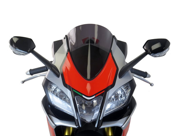 Aprilia RSV4 RF & RR  15-20 Airflow Light Tint DOUBLE BUBBLE SCREEN Powerbronze