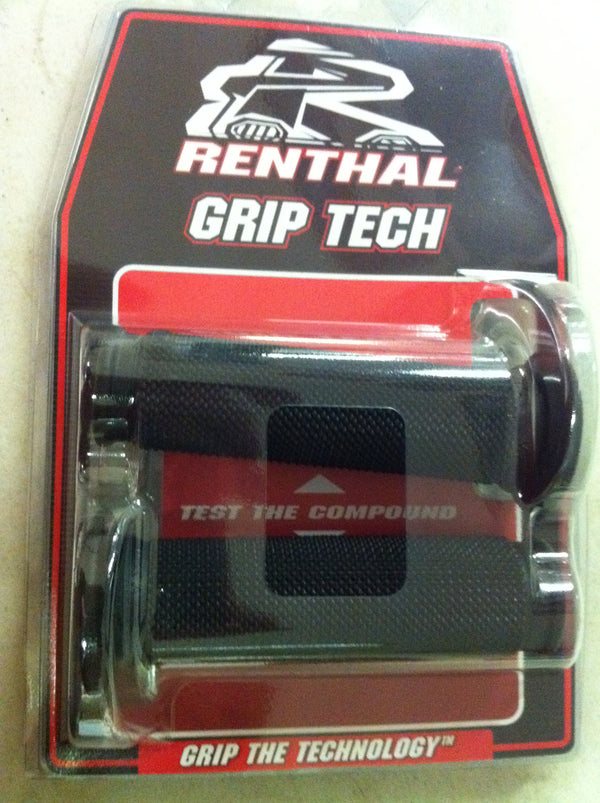 Renthal Grip Tech Road Race Dual Compound Firm Grips 32mm diameter G211
