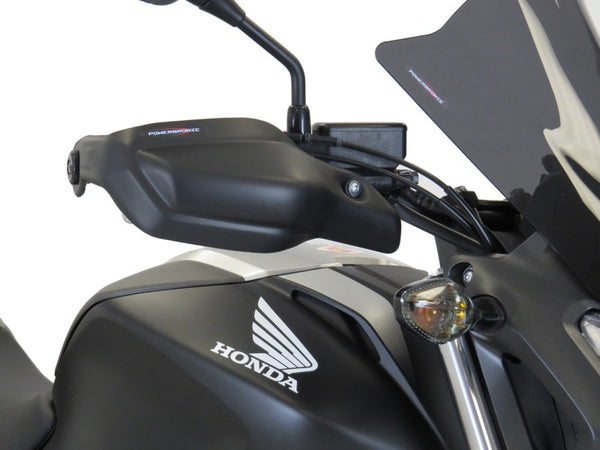 Honda NC700S 12-14 & NC750S 13-20 Matt Black Handguard/Wind Deflectors Powerbronze