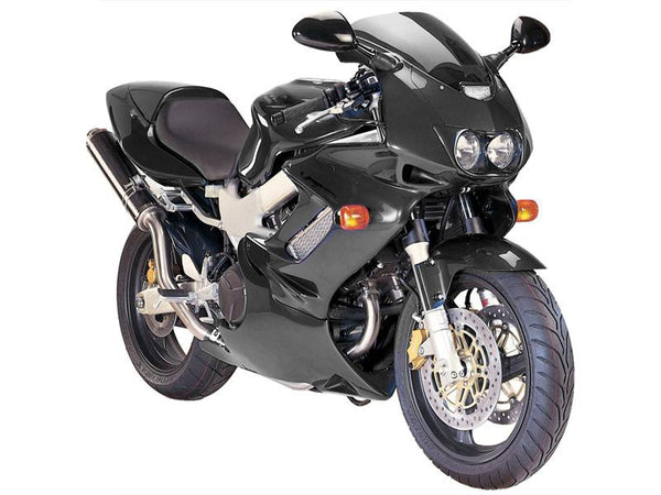 Honda VTR1000 Firestorm 97-2005  Fairing Lowers Gloss Black Finish by Powerbronze RRP £210