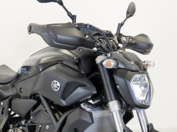 Yamaha MT-07 & FZ-07  14-2020  Matt Black Handguard/Wind Deflectors Powerbronze