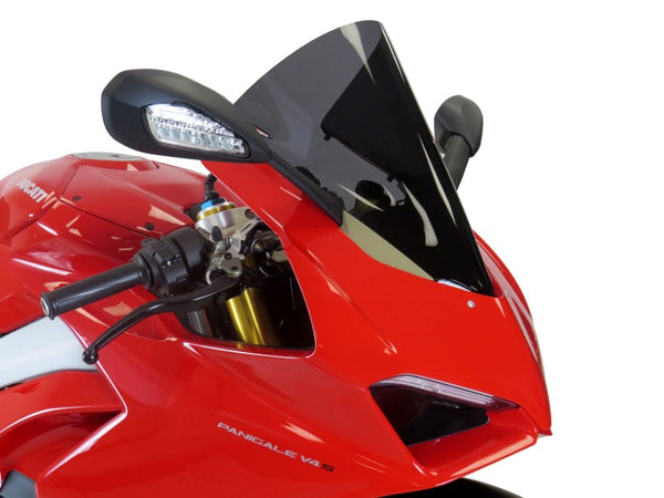 Ducati Panigale V4  18-2019  Airflow Dark Tint DOUBLE BUBBLE SCREEN by Powerbronze