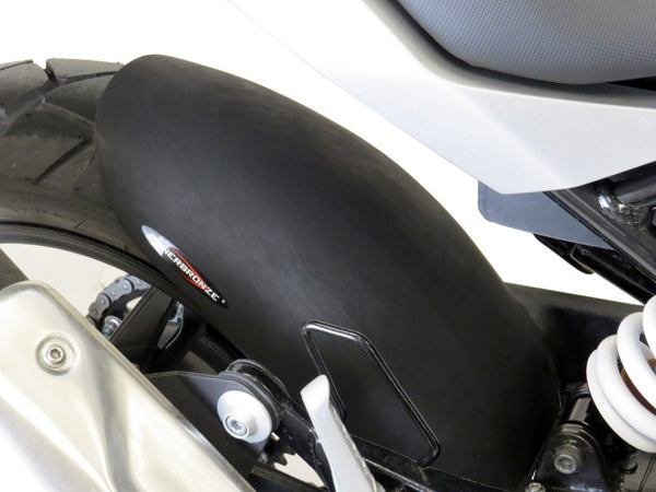 BMW G310GS & G310R 16-2019 Rear Hugger by Powerbronze White Finish