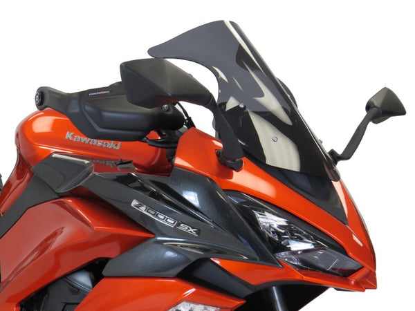 Kawasaki Z1000SX 17-2019 Matt Black Handguard/Wind Deflectors Powerbronze