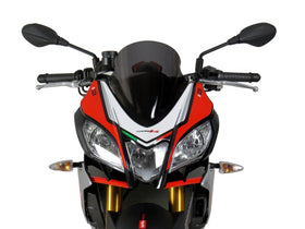 Aprilia Tuono V4  15-20 Airflow Light Tint DOUBLE BUBBLE SCREEN Powerbronze