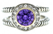 Fashion Purple Stone Ring