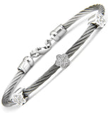 Stainless Diamond Bracelet