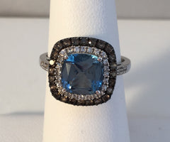 14K & 18K Diamond Ring