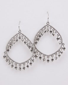 Fashion Earrings With Beads