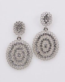 Fashion Earrings Oval