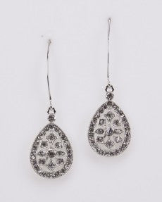 Fashion CZ Drop Earrings