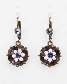 Small Flower Fashion Earrings