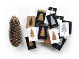 Blue Spruce Tree Matchbox