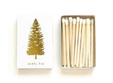 Noble Fir Tree Matchbox