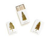 Noble Fir Tree Foil Matchbox