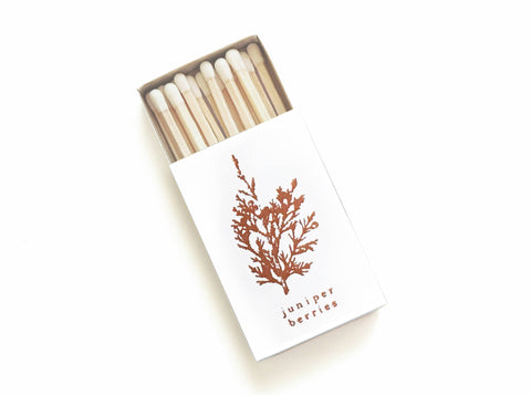 Juniper Berries Foil Matchbox