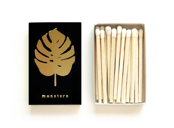 Monstera Leaf Matchbox