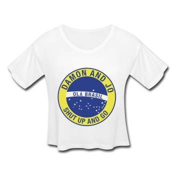 WOMEN'S SHUT UP AND GO BRAZIL LIMITED EDITION TEE