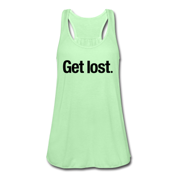 GET LOST / Women's Flowy Tank Top by Bella