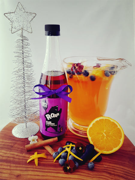 Festive Fruity Punch recipe.