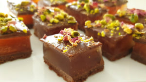 easy turkish delight recipe. yummy turkish delight. dessert.