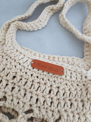 crochet market bag. earth friendly bags. re-usable crochet bags
