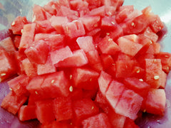 Watermelon salad. Simple Summer Salads.