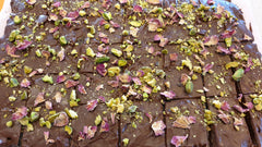 turkish delight recipe. dessert ideas. favourite party sweet treats. exotic flavours