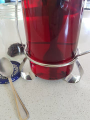 How to make iced tea. Iced tea recipe. Hibiscus flower tea. Natural raspberry cordial