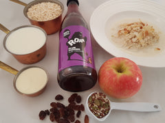 Easy bircher muesli recipe. From scratch muesli. Roar Living recipes.
