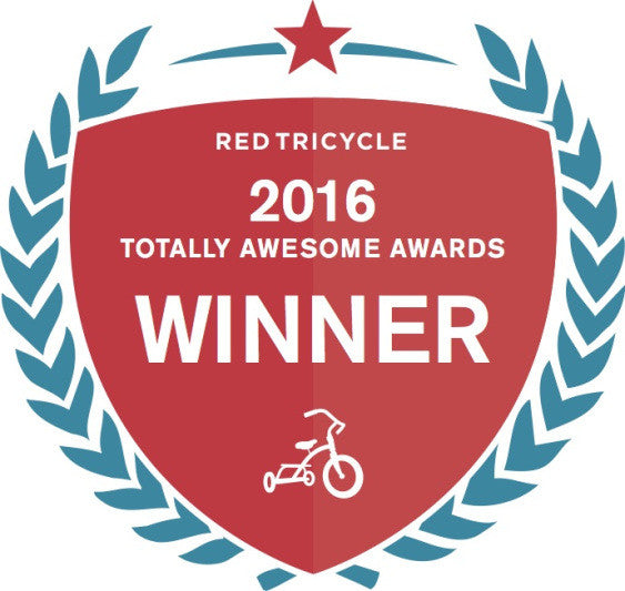 We won the Red Tricycle 2016 Totally Awesome Awards!!   *SO AWESOME*  Thank you for voting!