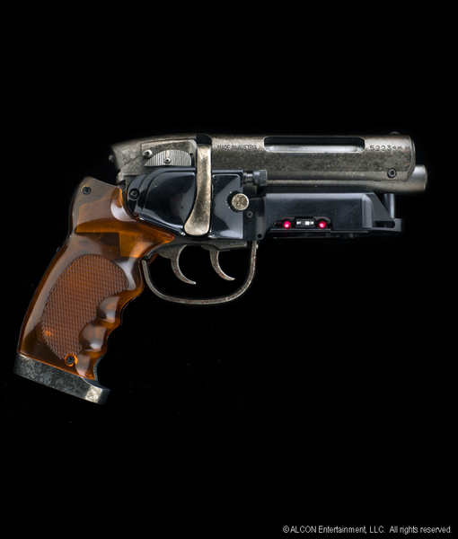 RICK DECKARD'S GUN - HARRISON FORD SIGNATURE EDITION