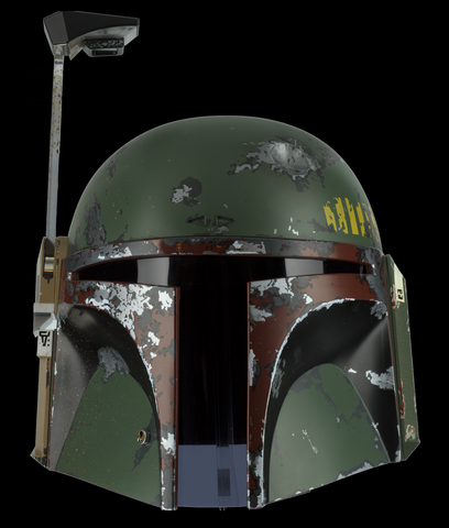 BOBA FETT HELMET - PRECISION CRAFTED REPLICA