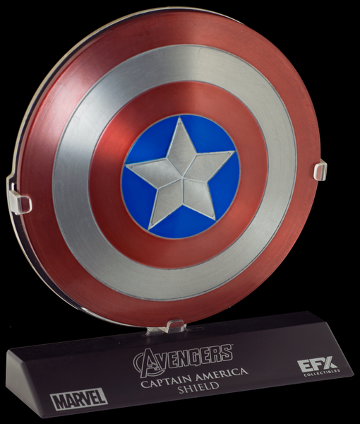 CAPTAIN AMERICA SHIELD - 1:6 SCALED REPLICA - THE AVENGERS