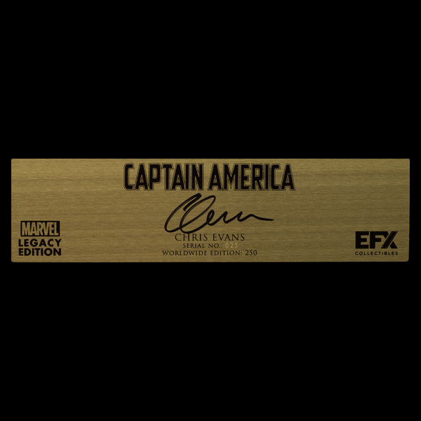 CHRIS EVANS SIGNATURE PLAQUE