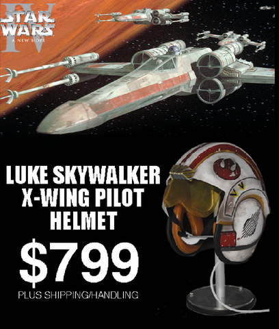 LUKE SKYWALKER ANH X-WING PILOT HELMET - LIMITED EDITION