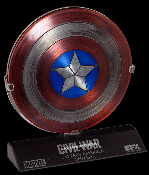 CAPTAIN AMERICA SHIELD - 1:6 SCALED REPLICA CAPTAIN AMERICA: CIVIL WAR CONVENTION EXCLUSIVE