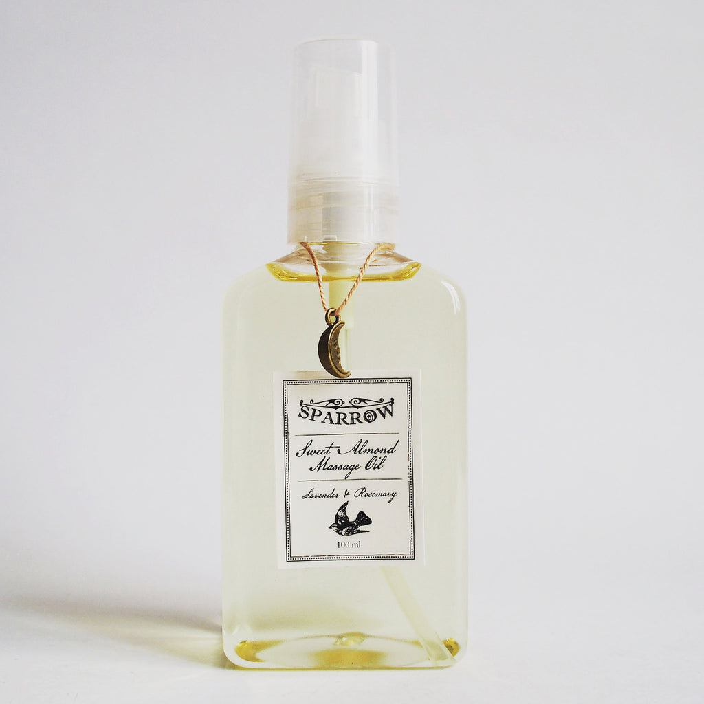Lavender & Rosemary Massage Oil