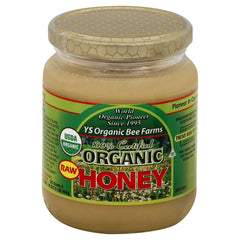 YS Organic Farms Organic Raw Honey 16oz