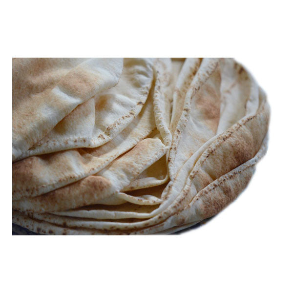 Pita Bread - Thin, White and Freshly baked